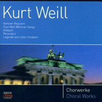 Kurt Weill - Four Walt Whitman Songs