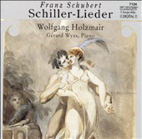Schubert - Songs on poems by Schiller