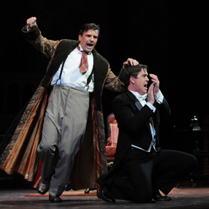 Role: Eisenstein | Dallas 2008 | with Christopher Feigum (Dr. Falke) | © Karen Almond